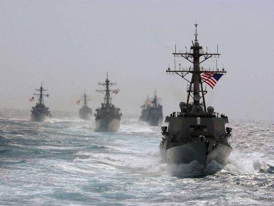 Второй флот США выдвинулся топить ВМФ России