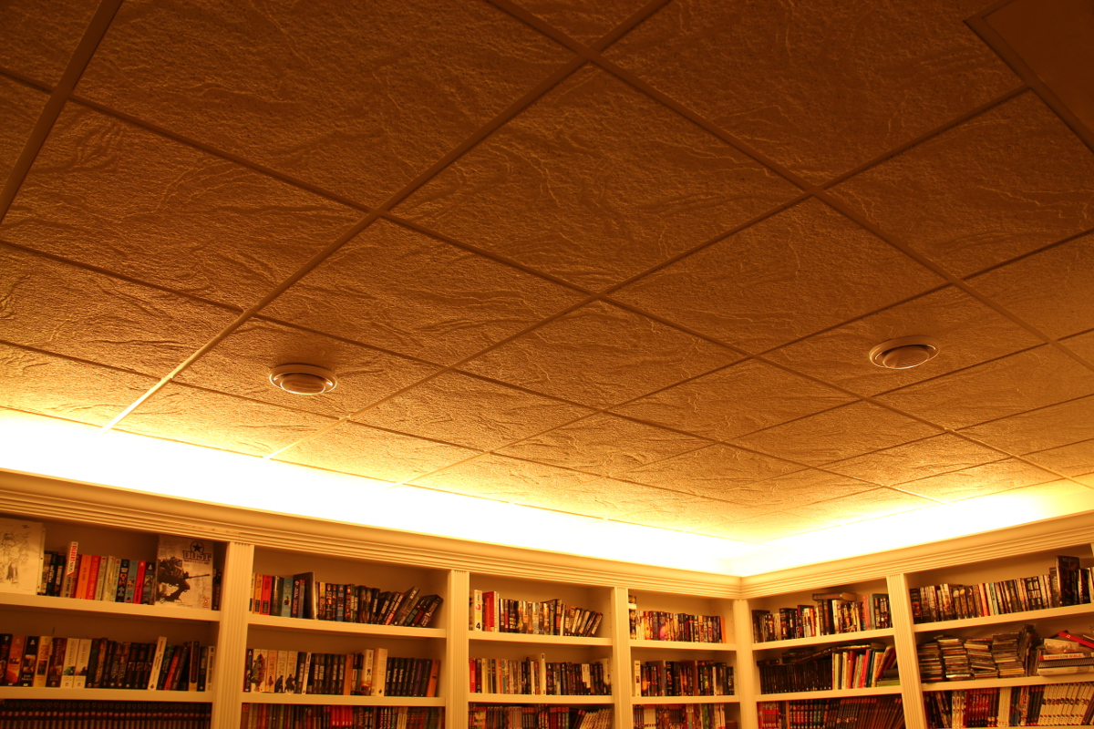 Book Of Errant Pages Suspended Ceilings Are Awesome