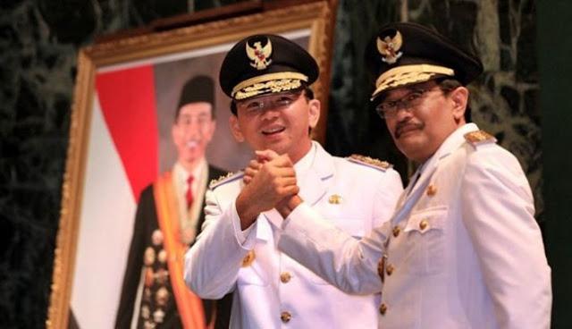 Basuki Tjahaja Purnama dan Djarot Saiful Hidayat