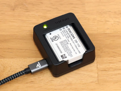 Rampow Type-Cケーブル と組み合わせて充電