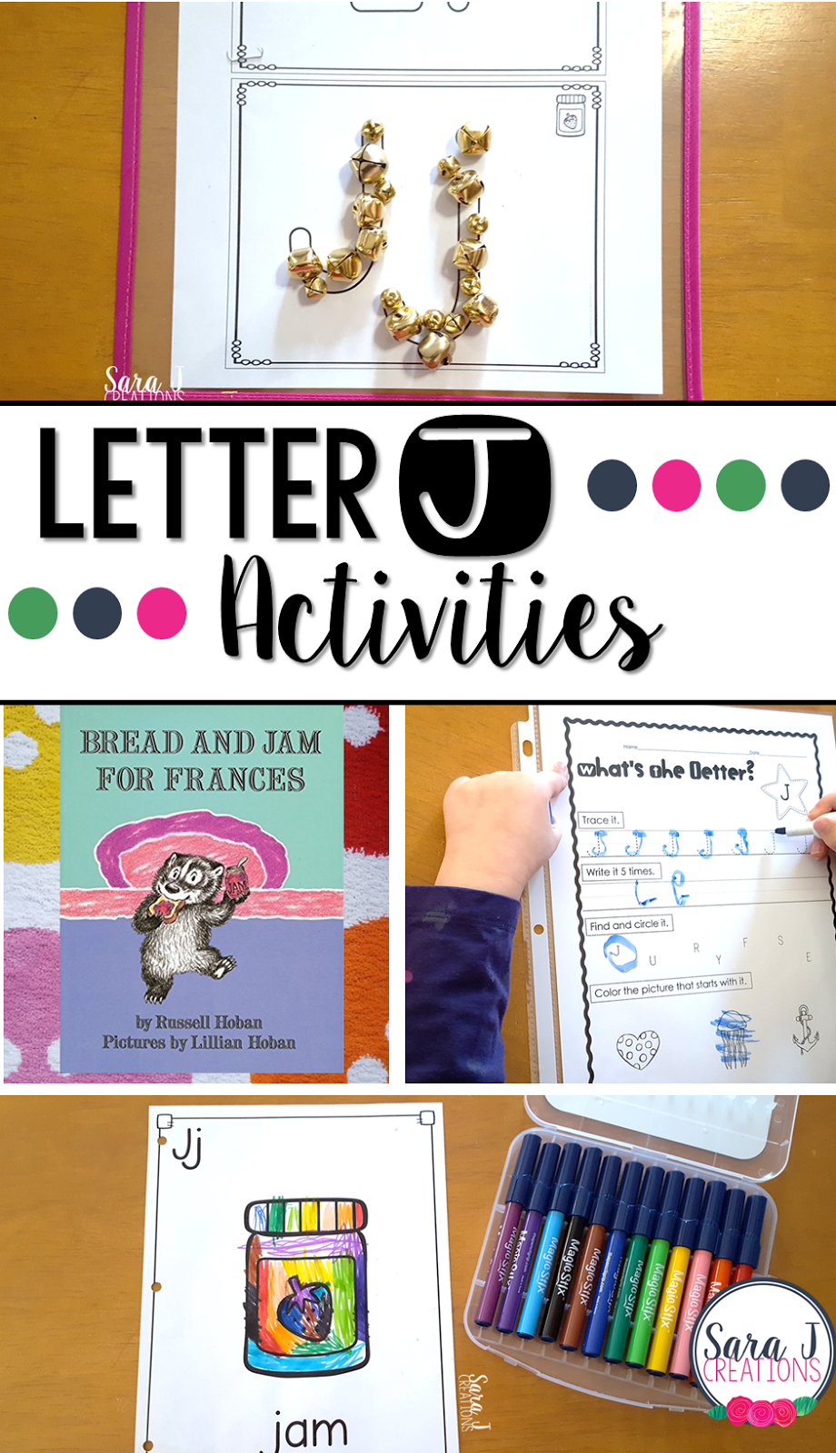 Letter J Activities Sara J Creations