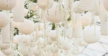 Decora con globos de papel ideas originales para bodas - Decora con globos ...