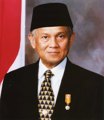 Gambar Presiden B.J. Habibie