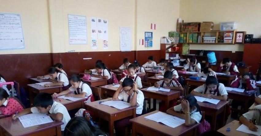 DRE San Martín: Más de 17 mil estudiantes rindieron la Evaluación Censal - ECE 2018 - www.dresanmartin.gob.pe
