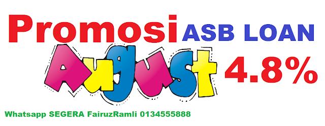 Promosi Asb Loan CIMB 4.8%
