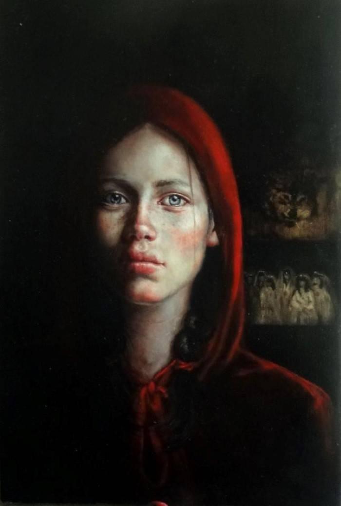 Реалистические картины. Carmen Mansilla