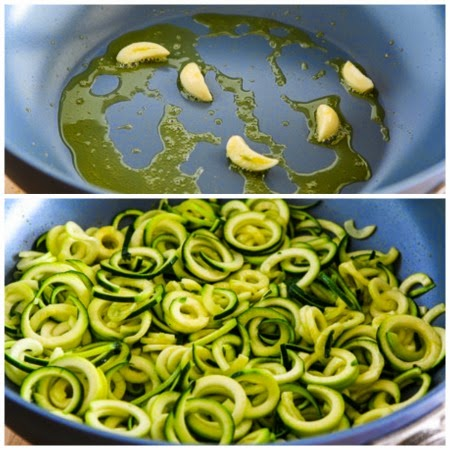 Mediterranean Zucchini Noodles (Low-Carb, Gluten-Free, Paleo, Vegan) found on KalynsKitchen.com