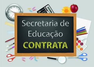 secretaria educação bom despacho contrata