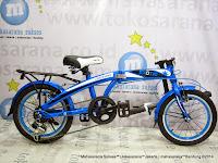 Sepeda Lipat Exotic 2026MK Bearing 16 Inci