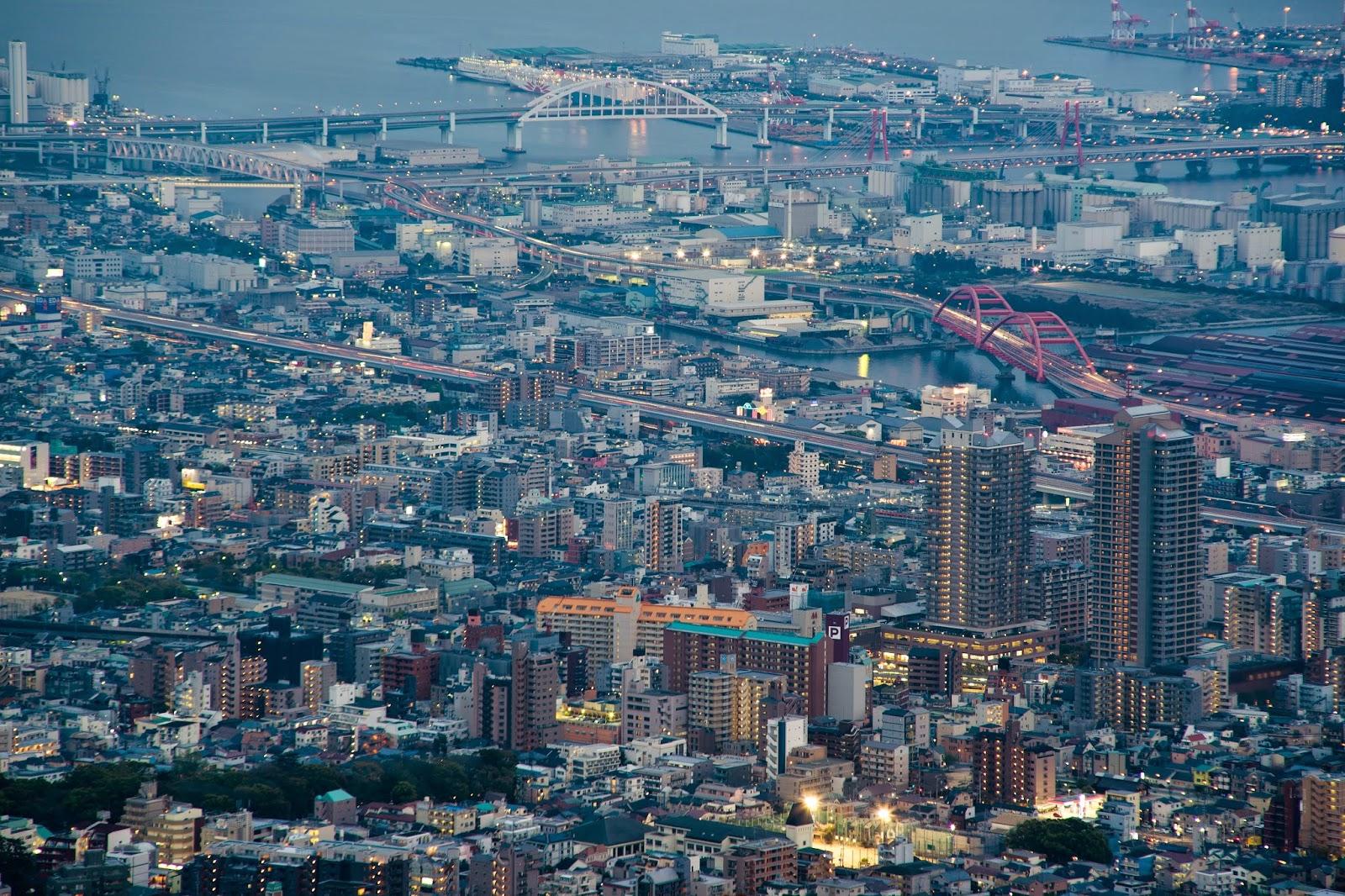 pmyfoto: 京阪神之旅DAY 4 神戶摩耶山夜景 神戶港夜景