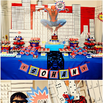 Boys Party Ideas | A Spiderman Inspired Super Hero Birthday