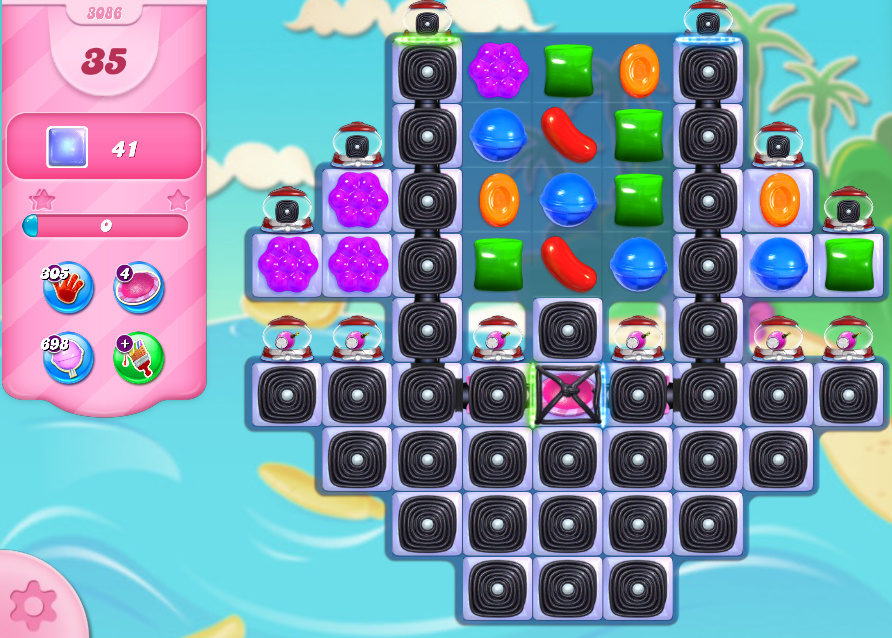 Candy Crush Saga level 3086