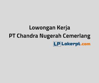 Lowongan Kerja PT Chandra Nugerah Cemerlang