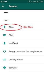Cara agar status Whatsapp tidak terlihat oleh Pasangan 3