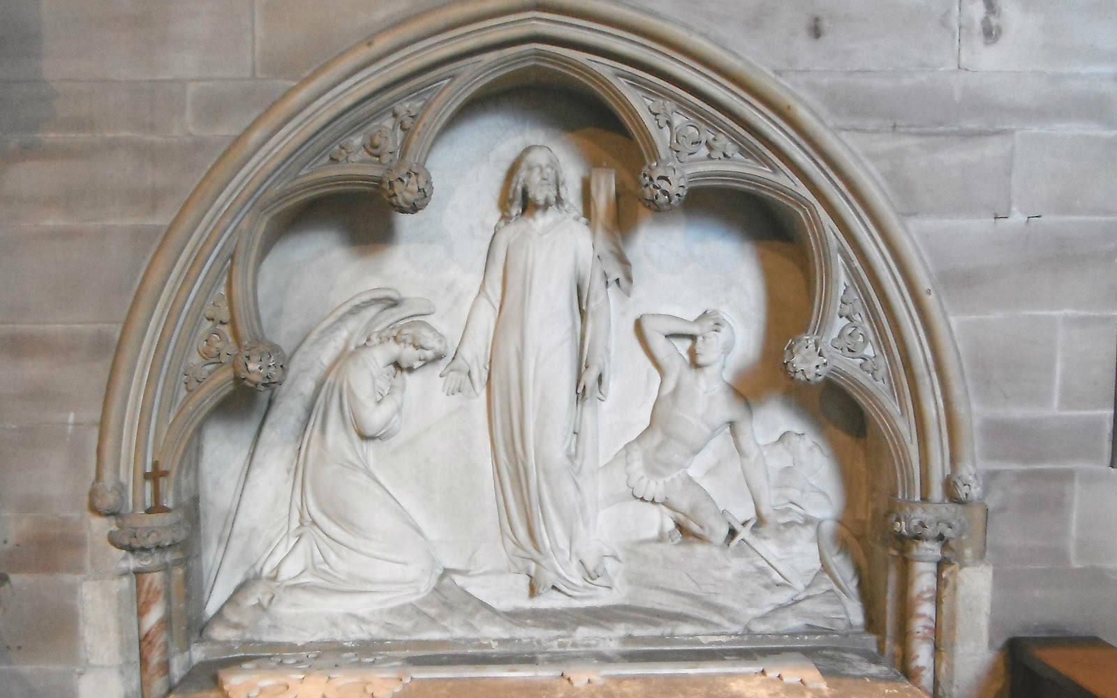 Lady Chetwynd Memorial in Colwich Church