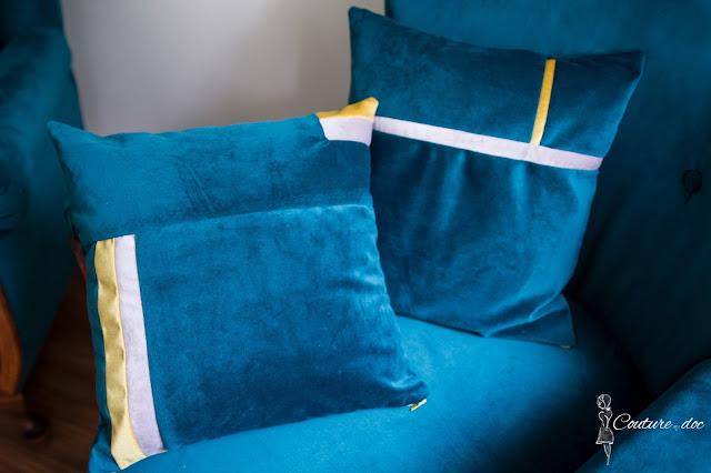 welurowe poszewki na poduszkę