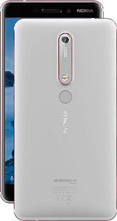 Nokia 6 2018 Silver/Iron