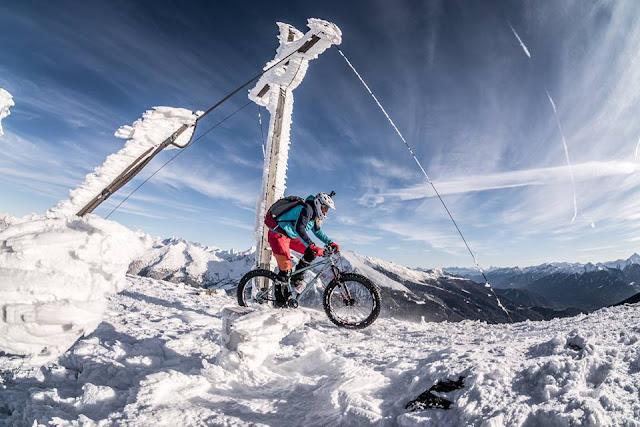 Winter Transalp Fatbike Brenner Grenzkamm