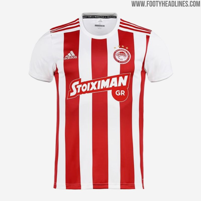 Olympiacos 19-20 Home, Away & Third Kits Released - Footy Headlines