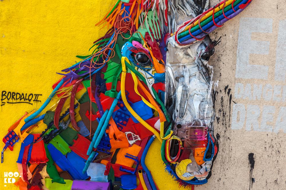 Portuguese Artist BORDALO II's Endangered Dreams In Aberdeen, Scotland