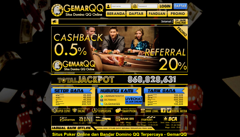 Situs Online Bandar66 Terpercaya GemarQQ