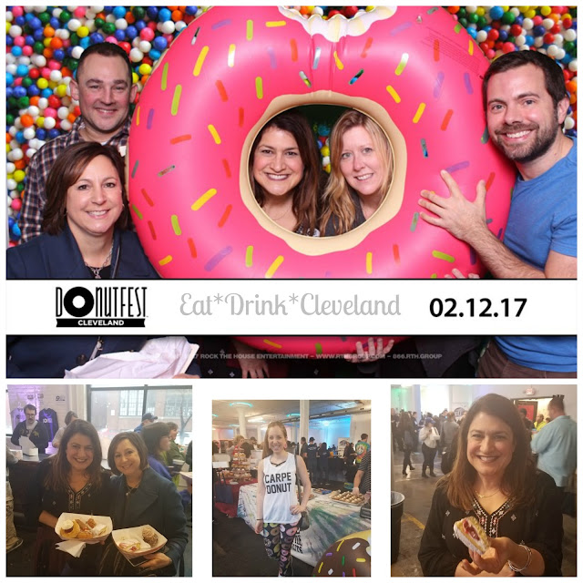 Cleveland, Donut Fest, donuts, photo booth, Ohio Festivals, Lisa Sands