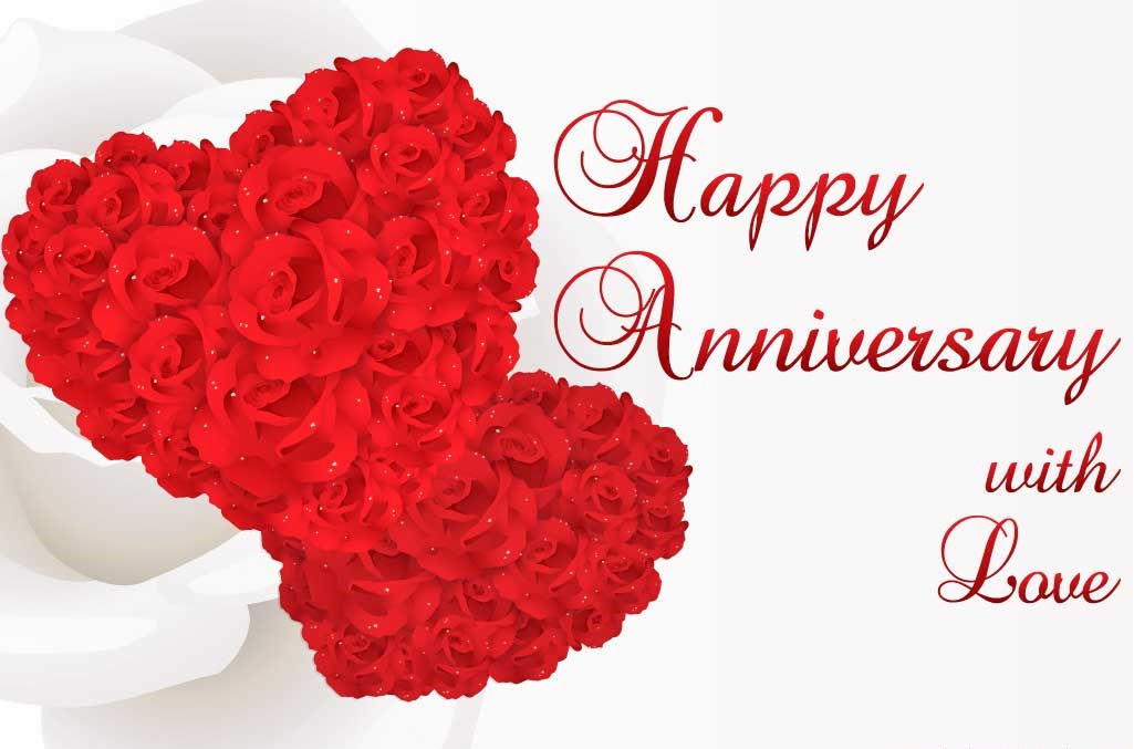 Wedding anniversary greetings happy