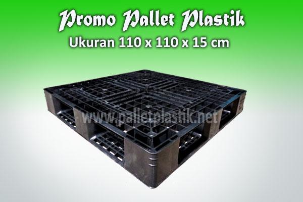 Promo pallet plastik ukuran 110 x 110 x 15 cm sanko