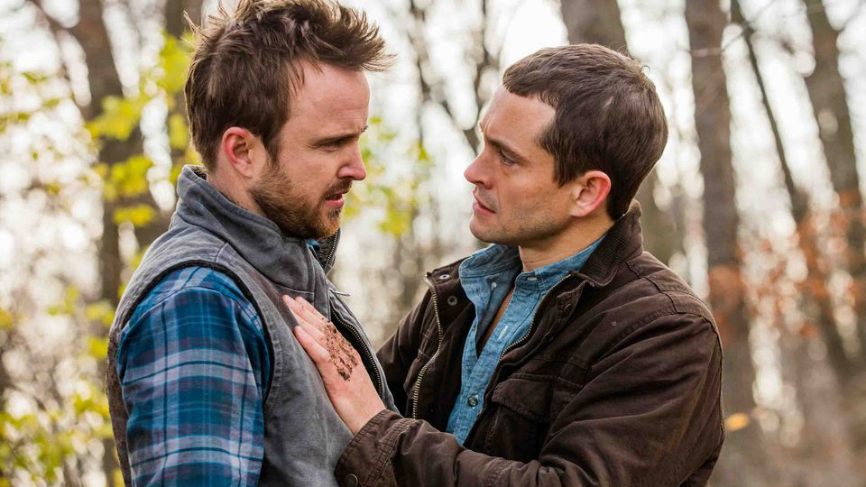 Aaron Paul y Hugh Dancy en 'The Path'