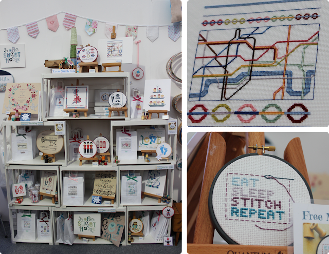 Handmade Fair 2016 - StitchKits by Ruth Craig
