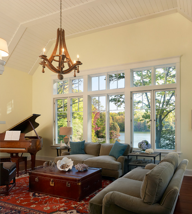 Interior Design For New Home: New Home Interior Design: Lakefront Cottage