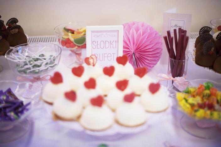 Słodki kącik weselny