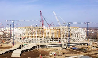 Stadion Mordovia Arena 2018 Rusia