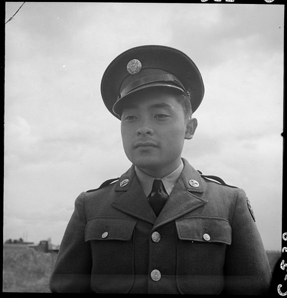 Nissei soldier in California, 10 July 1941 worldwartwo.filminspector.com