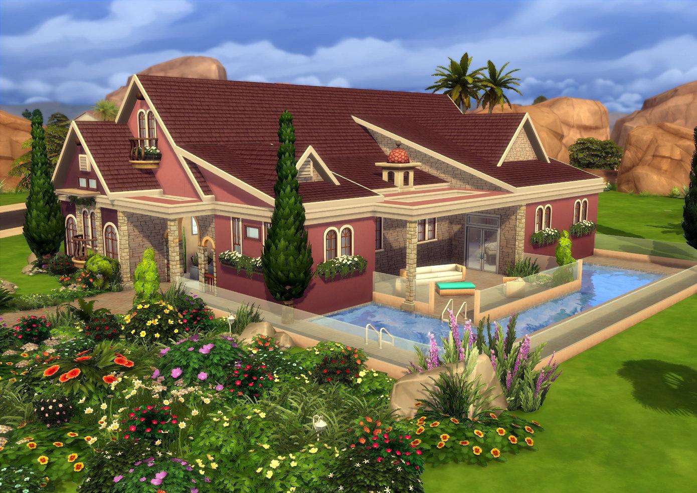 บ้านสวย The Sims 4