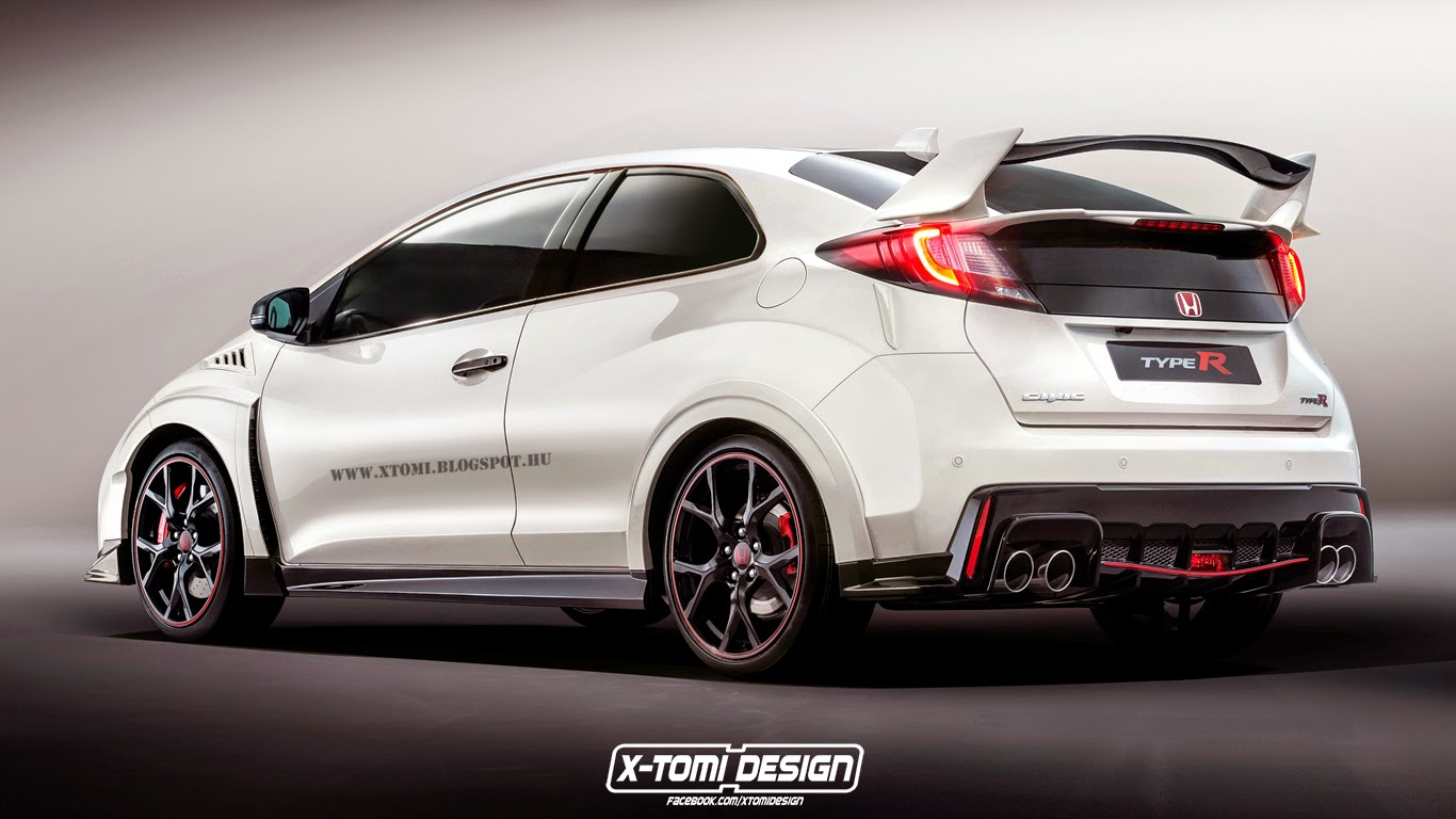 X Tomi Design Honda Civic Type R 3door