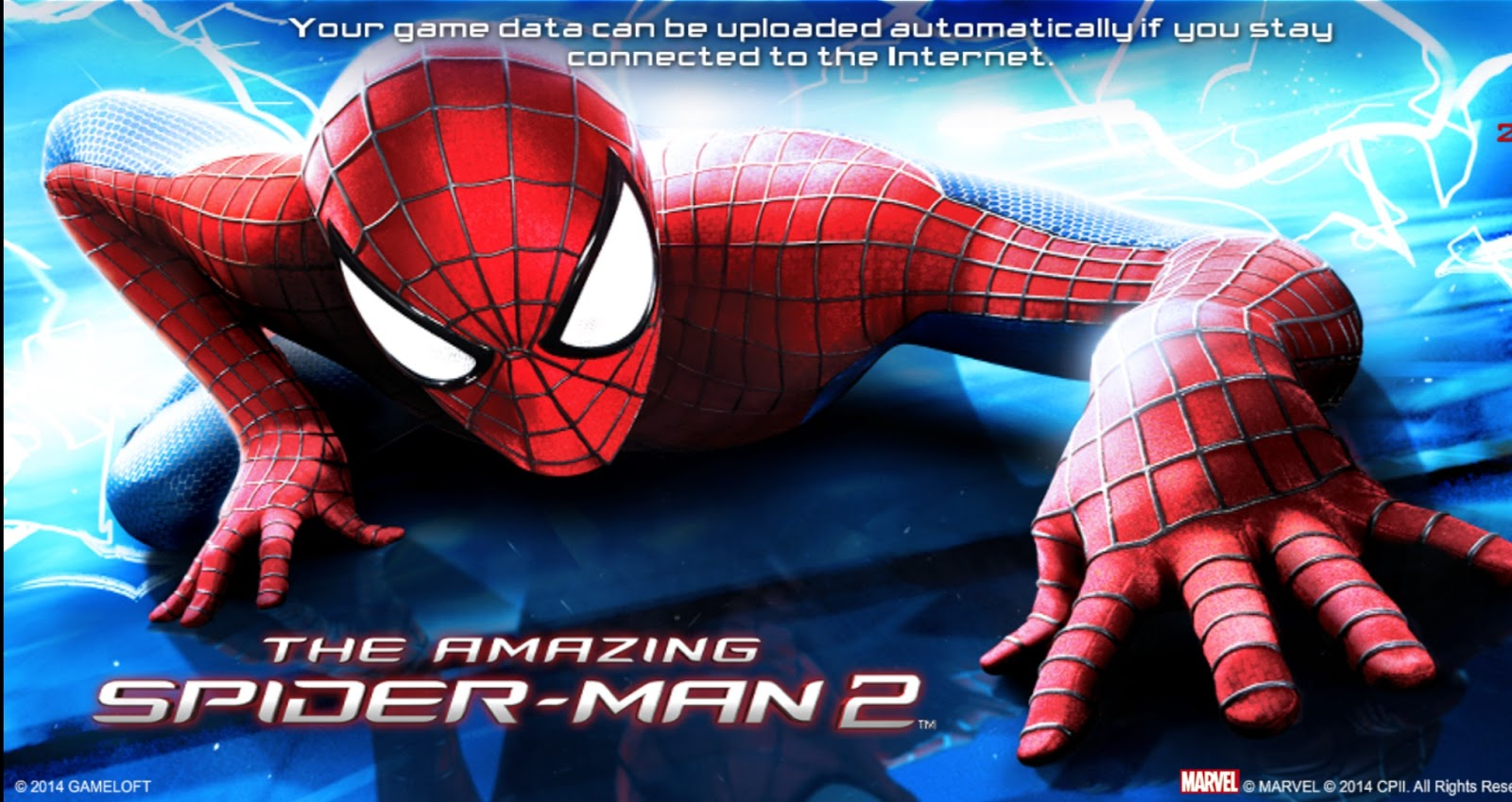 The Amazing Spiderman 2 Mega Mod Apk Data version 1 2 7d