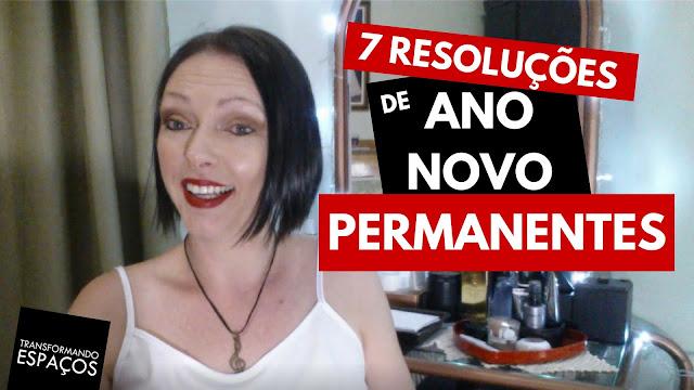 7 resoluções de ano novo permanentes feitas sob medida para mim!