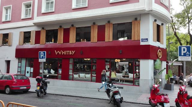 Whitby, fachada