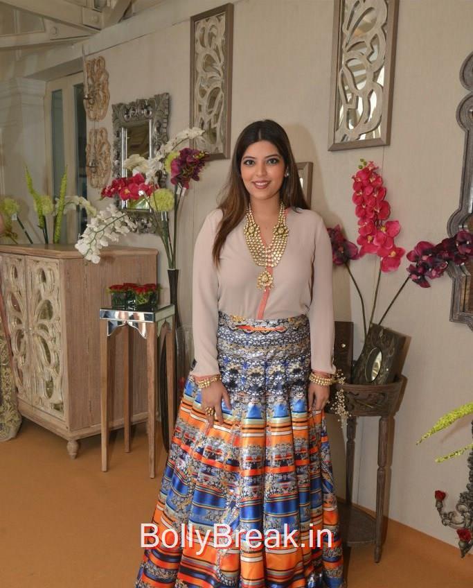 Jasmine Dhillon Hansraj, Anchal, Evelyn, Arpita at Bridal Asia Show Media Preview