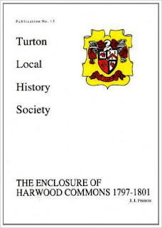 Turton Local History Society #13 - The Enclosure of Harwood Commons