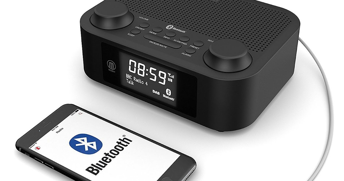 majority fulbourn dab dab digital fm radio alarm clock. Black Bedroom Furniture Sets. Home Design Ideas