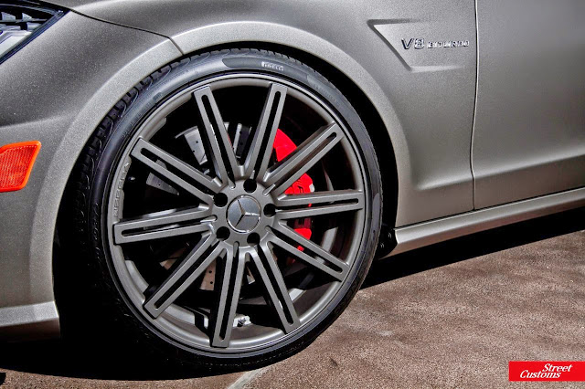 2012 mercedes cls 63 amg vossen wheels
