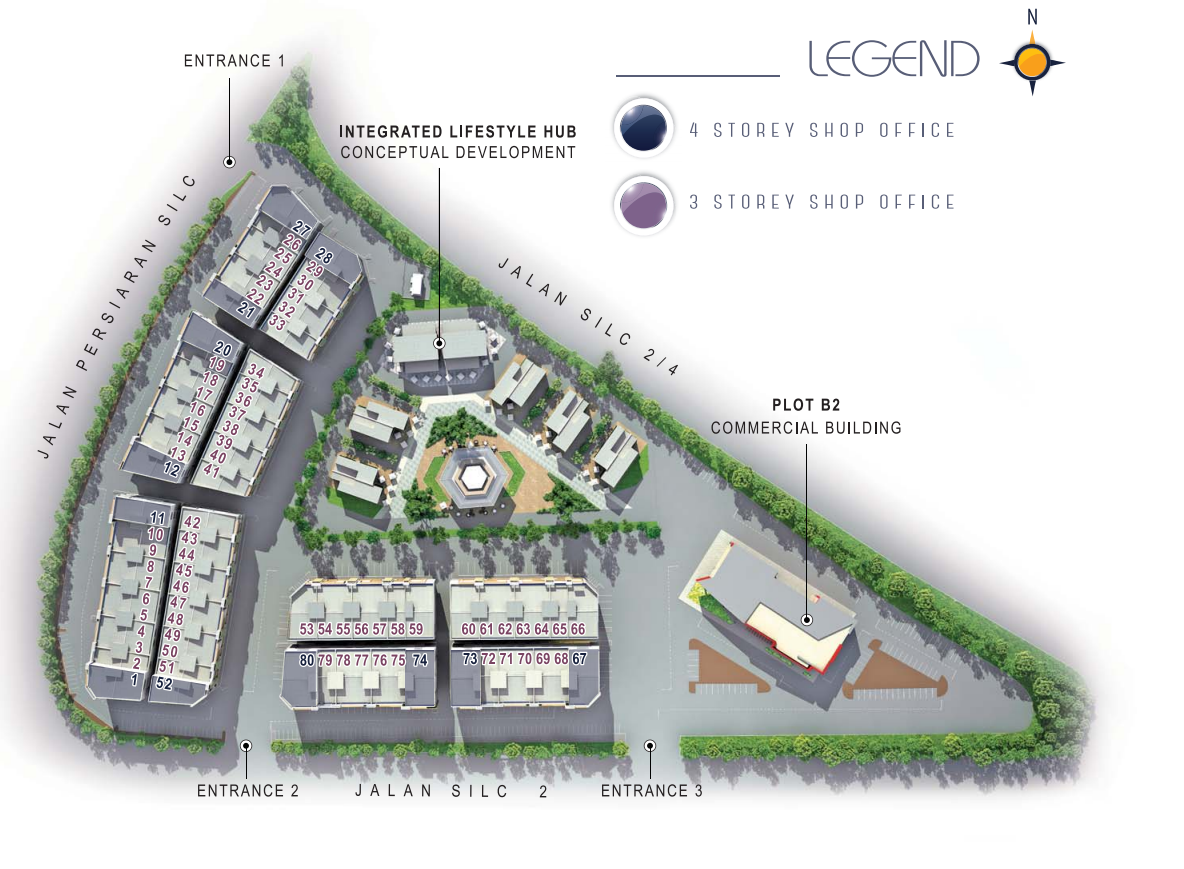 Nusajaya Square 2 Site Map