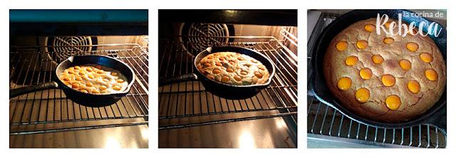 Receta de galleta rellena en sartén: horneado