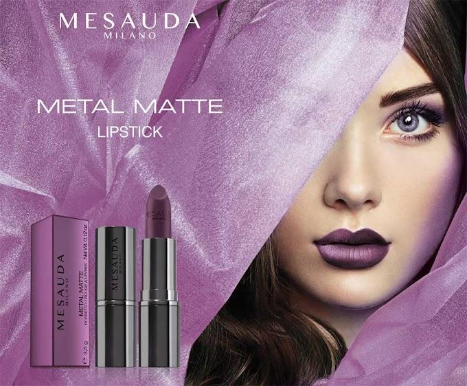 METAL MATTE LIPSTICK | MESAUDA MILANO