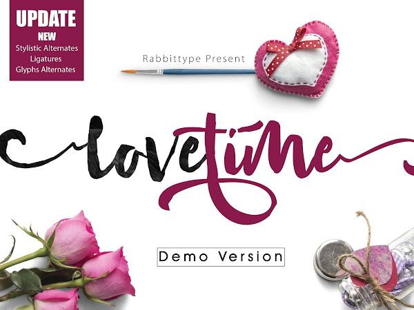 Love Time Script Font Free Download