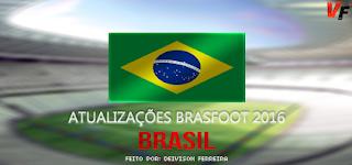 Atualização Brasileirão Série A (JUNHO) - Brasfoot 2016