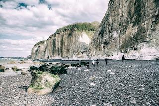 plage de galets varengeville sur mer