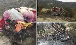 Se cae globo aerostático en Hidalgo; 2 personas calcinadas